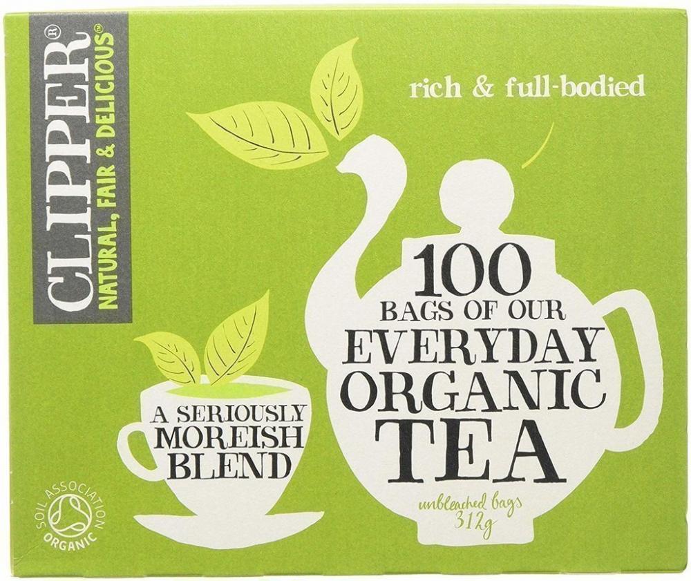 Clipper Organic Everyday Tea 100 Teabags