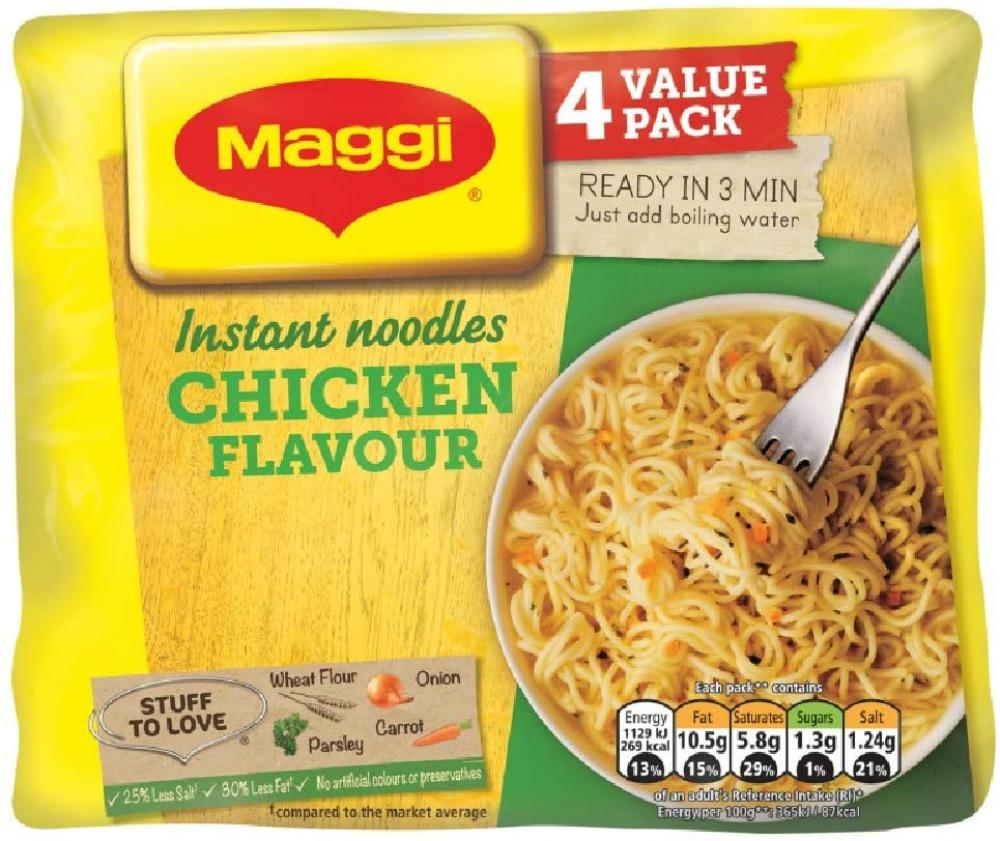 Maggi 3 Minute Chicken Flavour Noodles Pot 59g