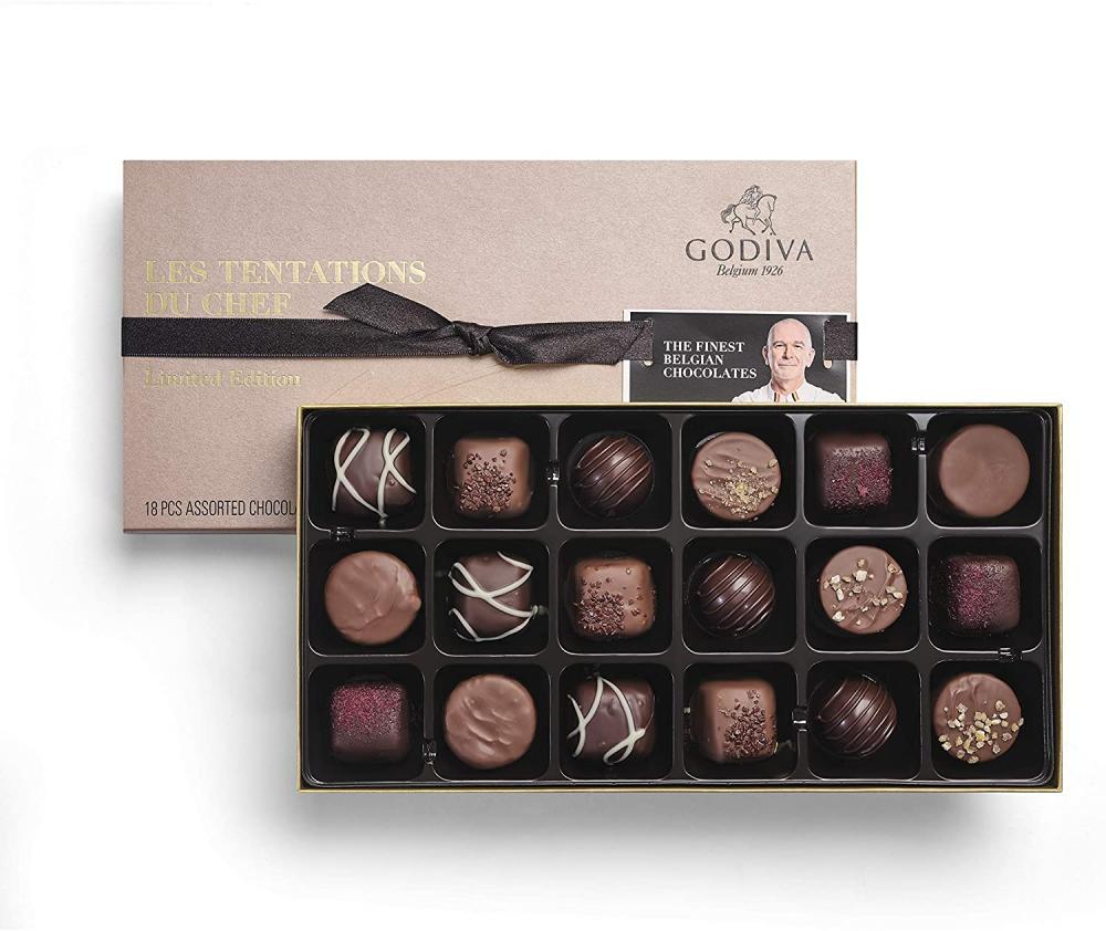 Godiva les Tentations du Chef Limited Edition 267g
