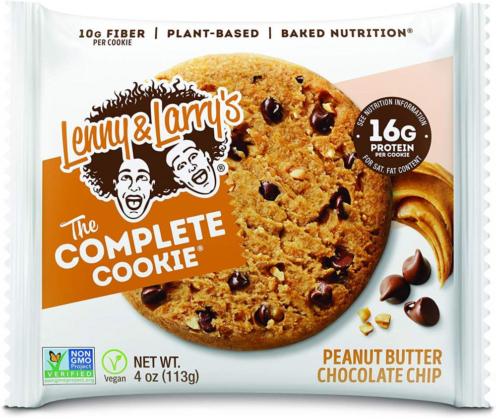 Lenny and Larrys The Complete Cookie Peanut Butter Chocolate Chip 113 g