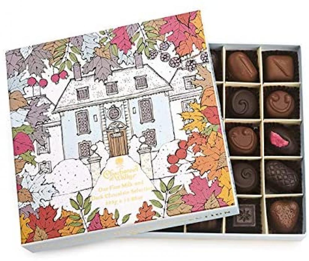 Charbonnel Et Walker Winter House Milk and Dark Chocolate and Truffle Selection 325 g