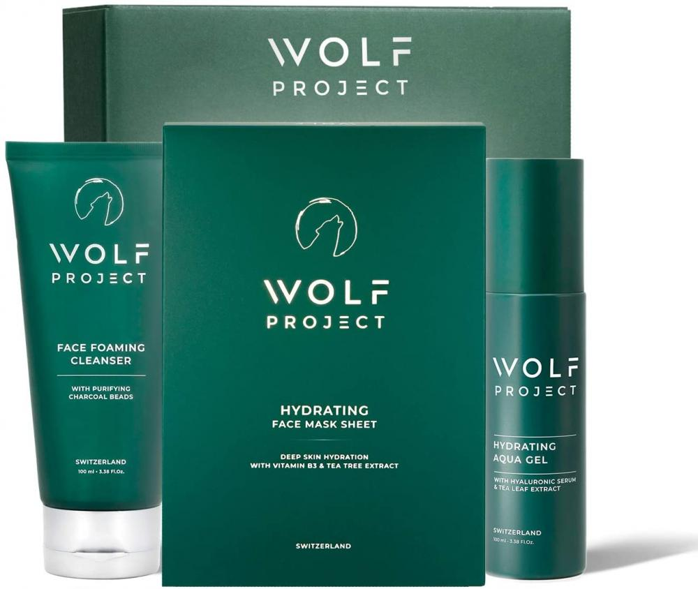 Wolf Project Skin Care Kit For Men