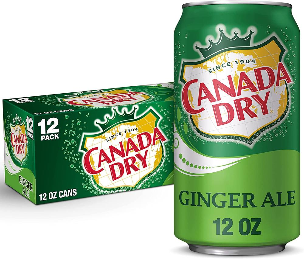 Canada Dry Ginger Ale 12 x 355ml