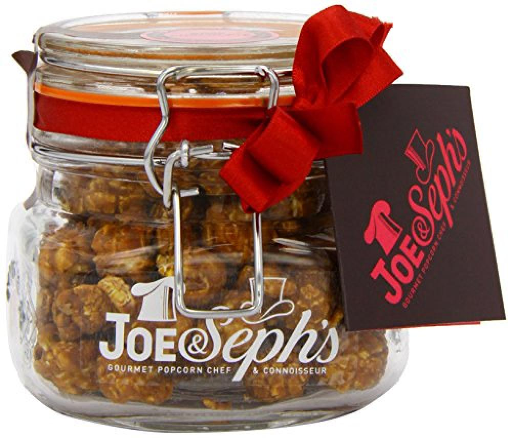 Joe and Sephs Kilner Jar of Rose Chocolate Limited Edition Popcorn