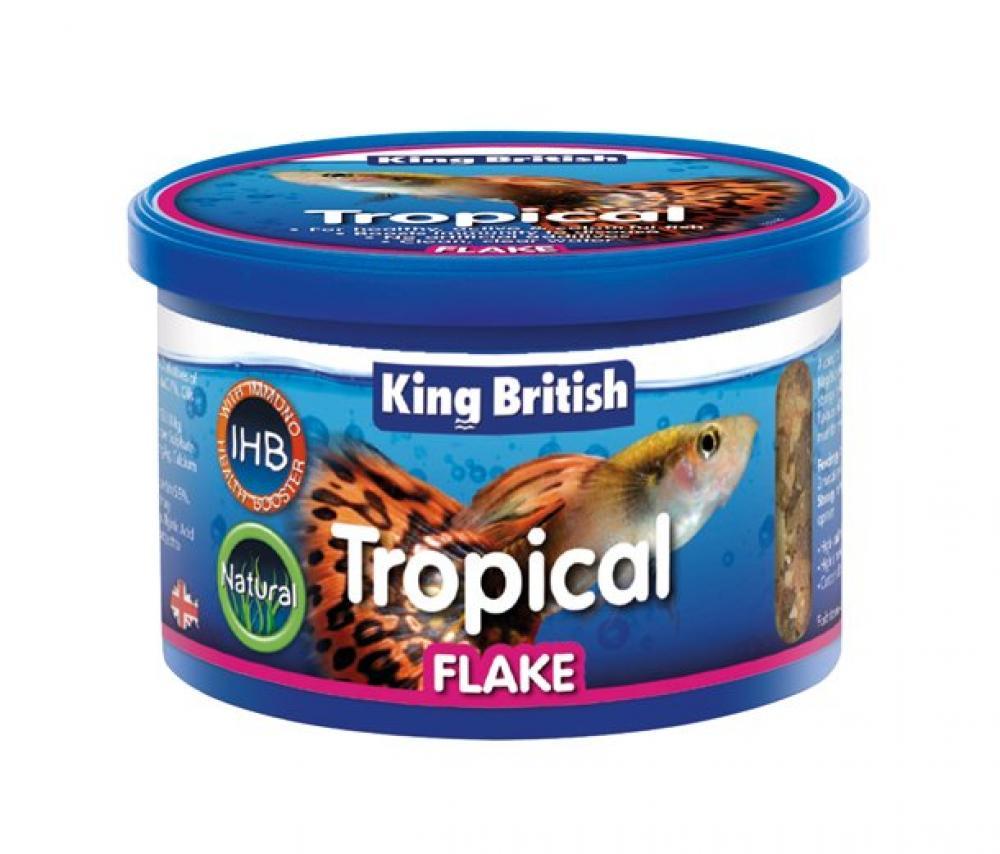 King British Tropical Flake Food 200 g