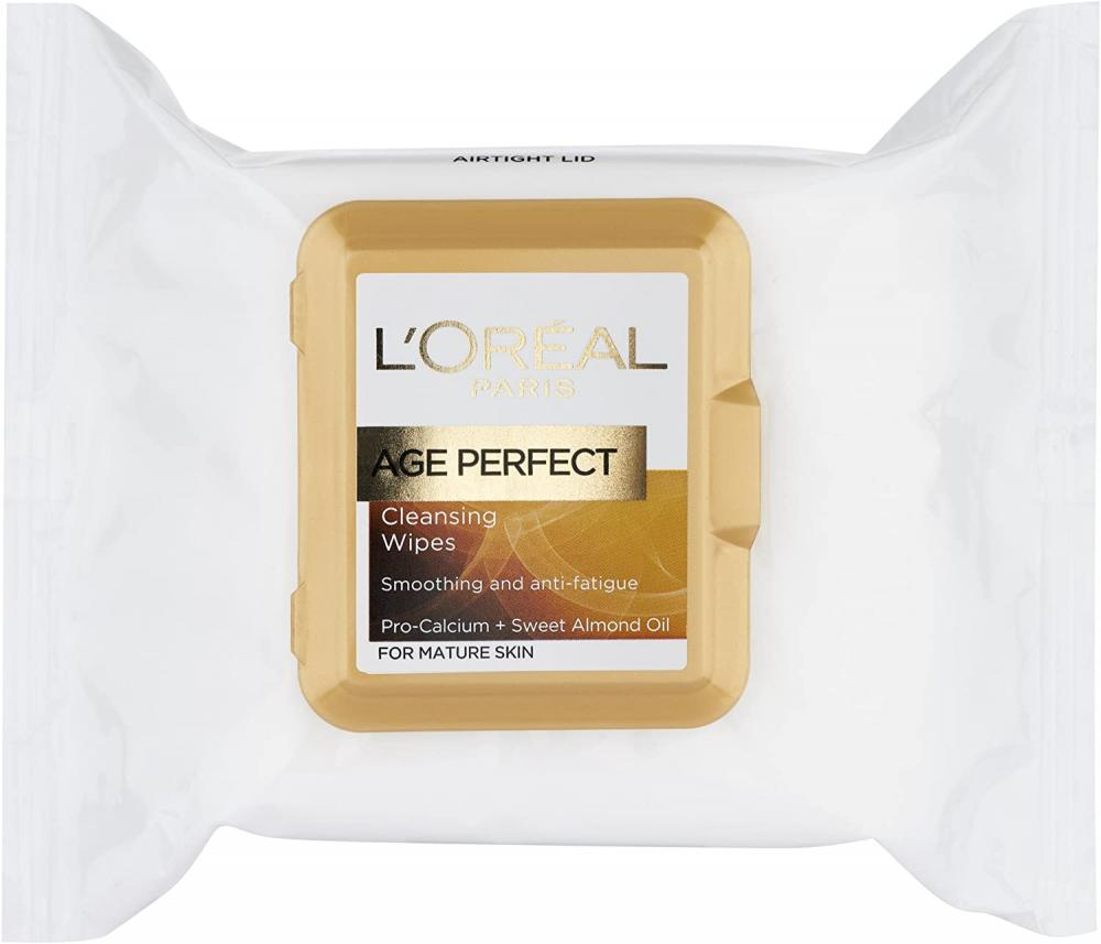 Loreal Paris Age Perfect Cleansing Smoothing Face Wipes 25 wipes