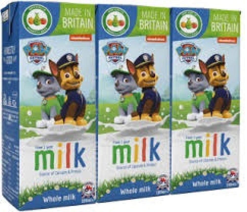 WEEKLY DEAL  Paw Patrol From 1 Year Whole Milk 3 x 200ml