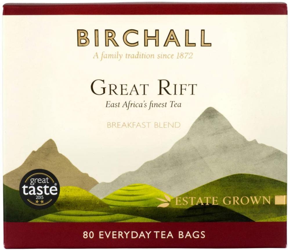 Birchall Great Rift Breakfast Blend 80 Tea Bags