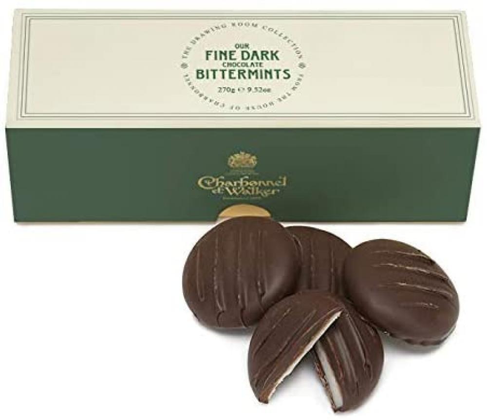 Charbonnel Et Walker Chocolate Bittermints 270 g