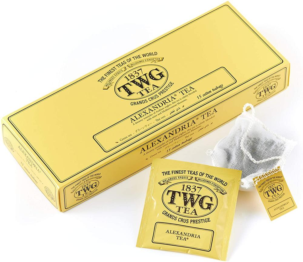 TWG Tea Alexandria Tea Green Tea Blend 15 Teabags