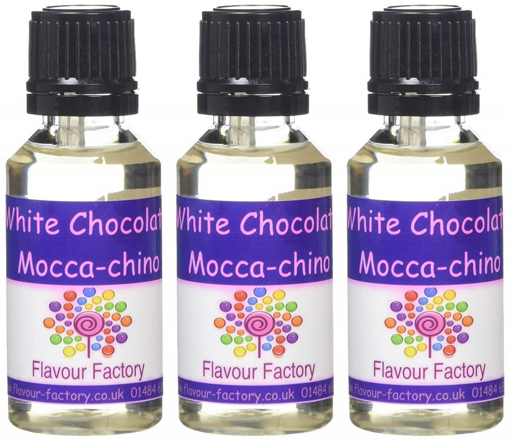 Flavour Factory White Chocolate Mocca-Chino 3x28.5ml
