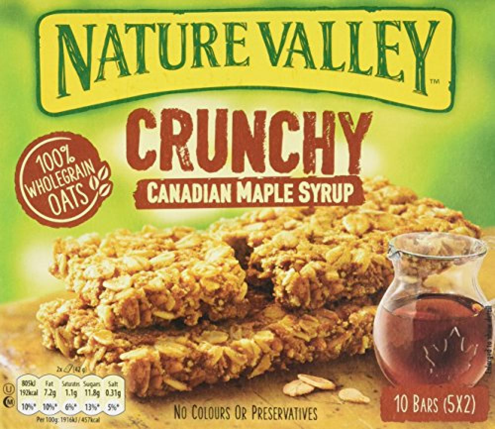 Nature Valley Crunchy Canadian Maple Syrup Granola Bar 210g