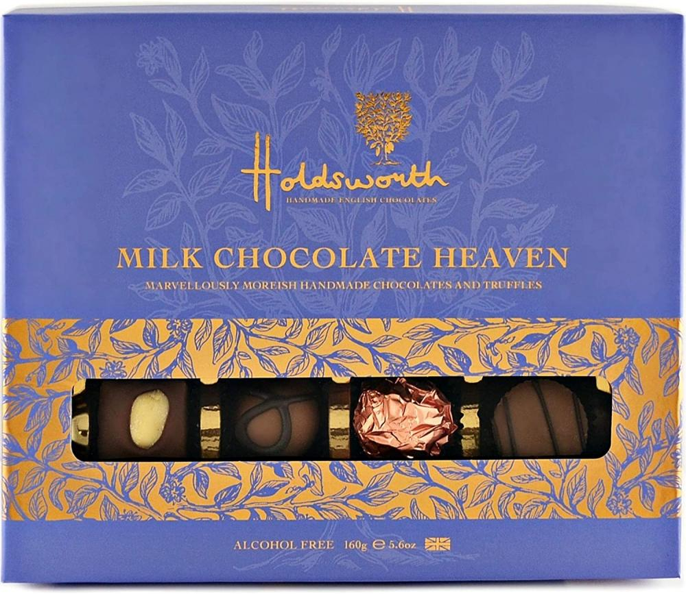 Holdsworth Chocolates Milk Chocolate Heaven 160g