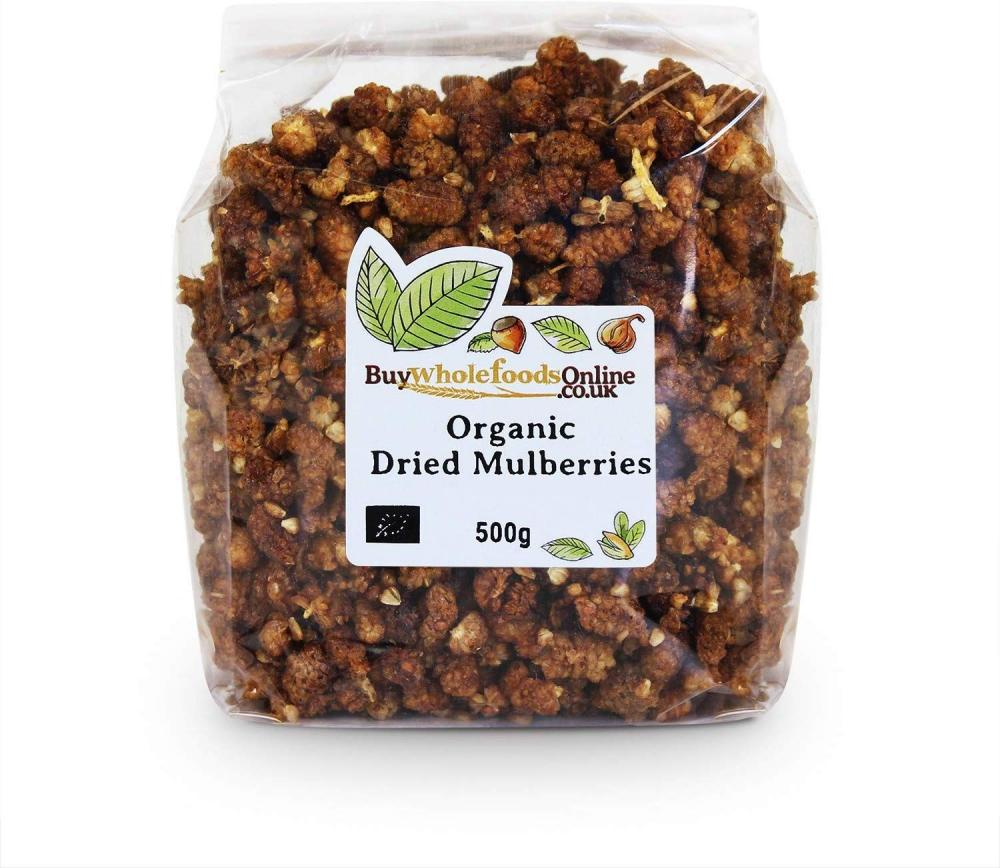 Buy Whole Foods Organic Dried Mulberries 500g