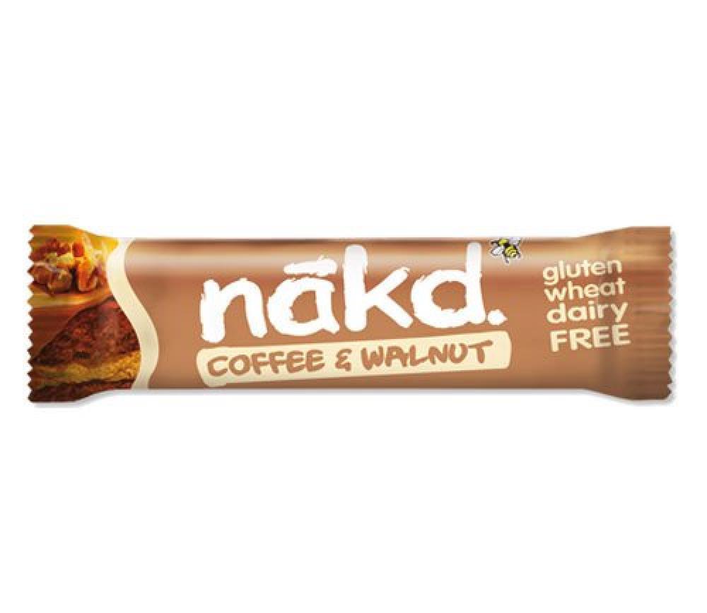 Nakd Coffee and Walnut Bar 35g