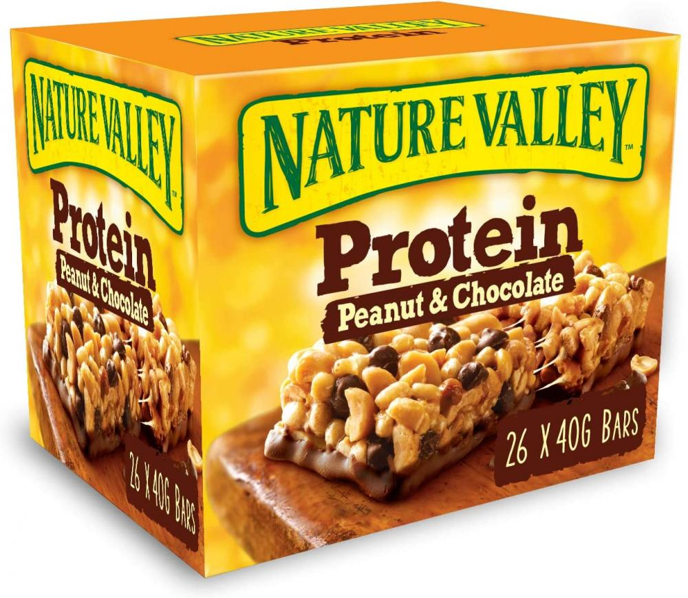 WEEKLY DEAL CASE PRICE  Nature Valley Protein Peanut and Chocolate Bar 26 x 40g