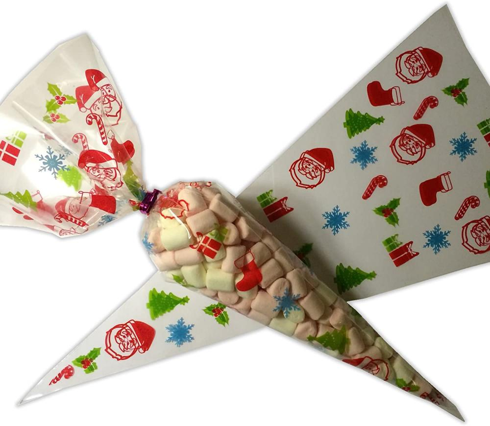 Treat Co Christmas Confectionery Cone 130g