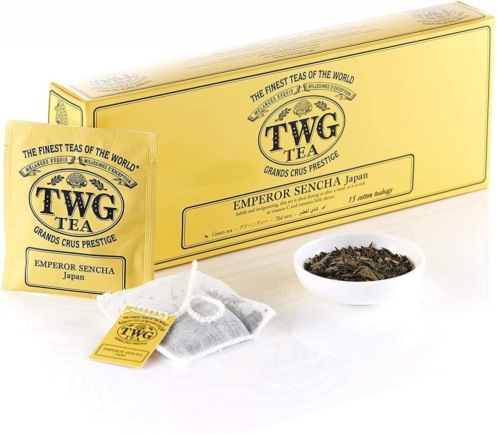 TWG Tea Emperor Sencha Japanese Green Tea 15 teabags