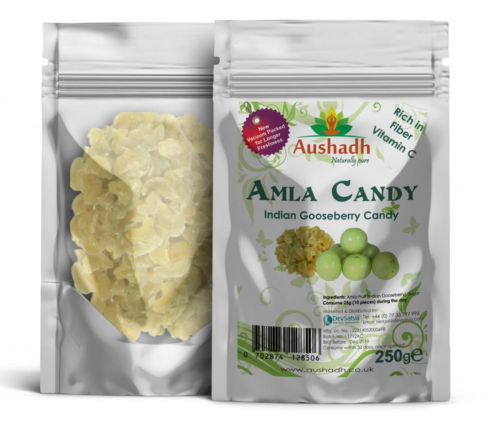 Aushadh Indian Gooseberry Candy 500g