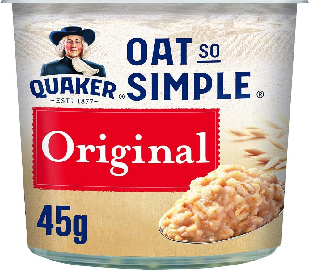 Quaker Oats So Simple Original Porridge Pot 45g