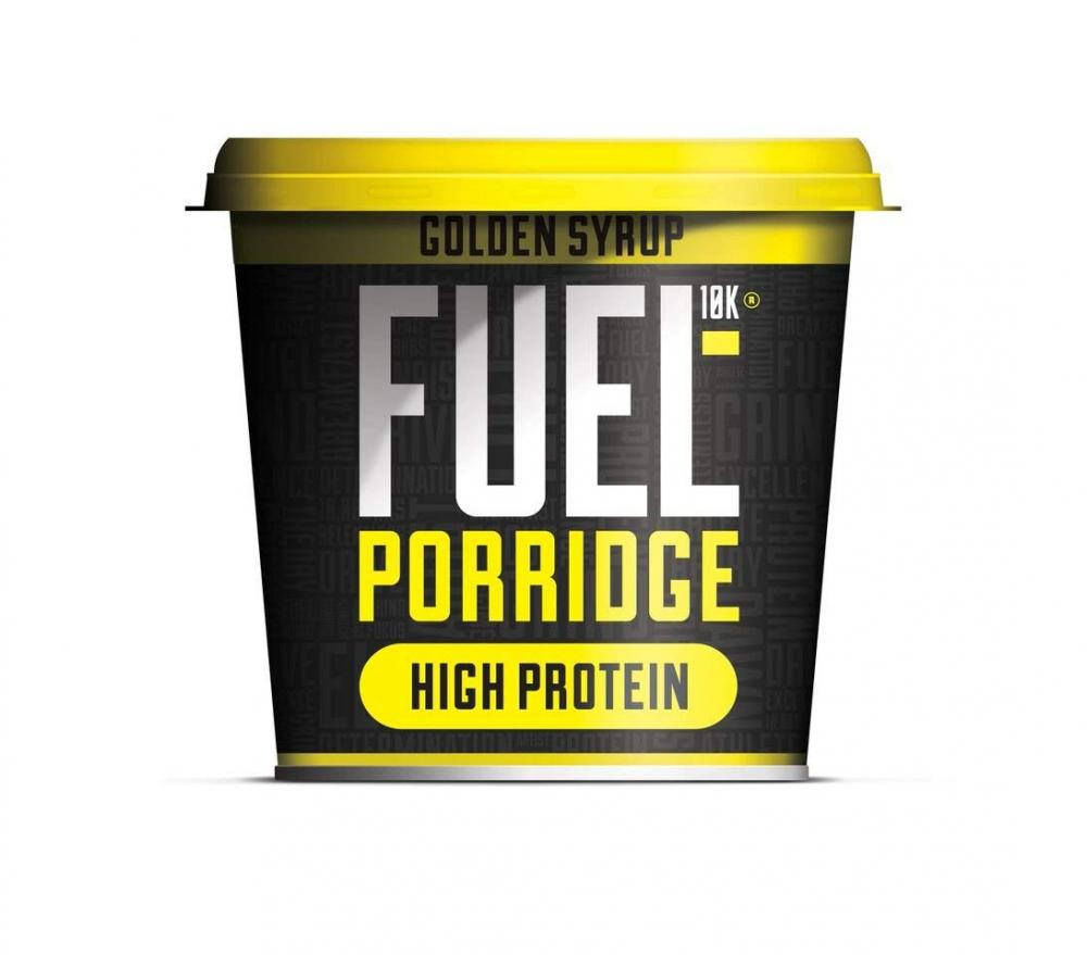 Fuel 10K Porridge Pots Golden Syrup 70g