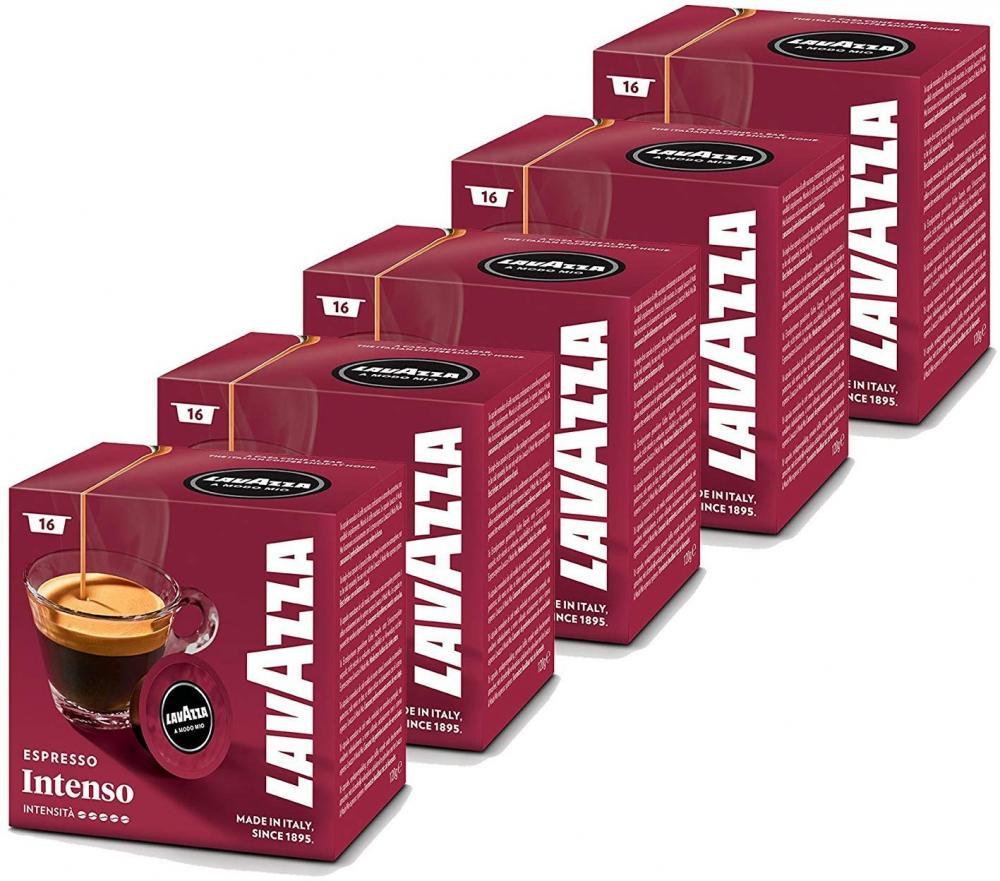 Lavazza A Modo Mio Intenso Coffee Capsules 16 Pack 120g