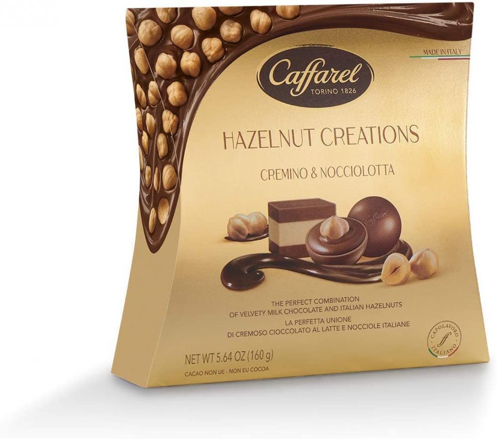 Caffarel Hazelnut Creations Pochette 160 g
