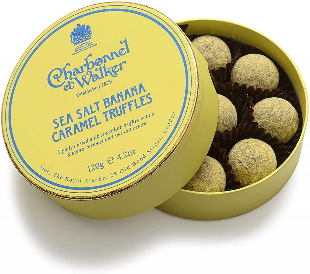 Charbonnel Et Walker Sea Salt Banana Caramel Truffles 120 g