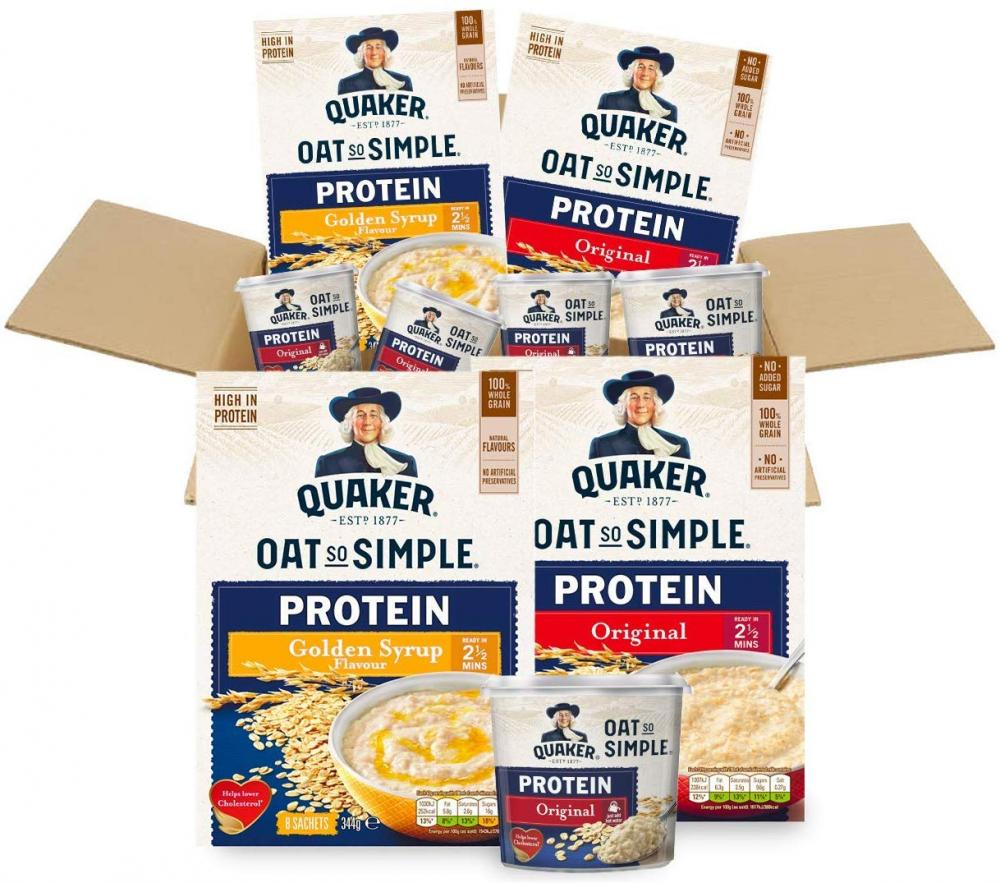 FLASH DEAL  Quaker Oats Protein Porridge Gym Box