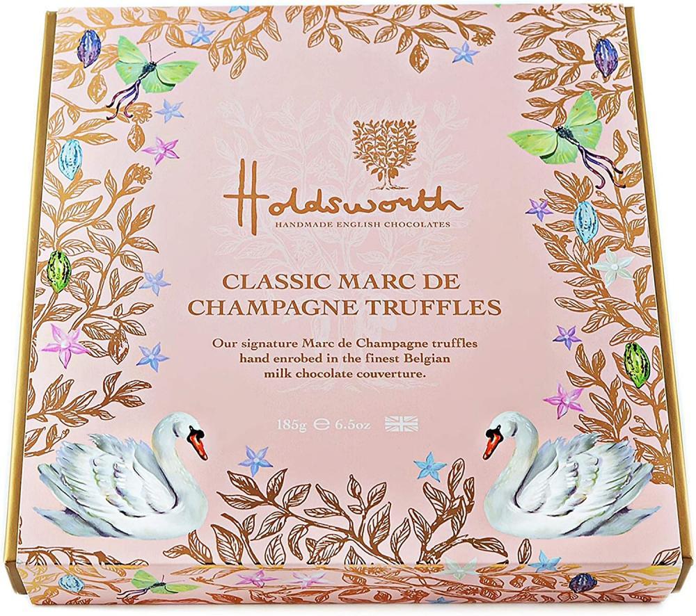 Holdsworth Chocolates Classic Marc de Champagne Truffles 185g