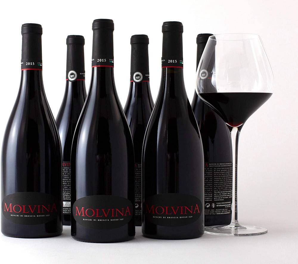 MOLVINA Fine Red Wine Vintage 75cl Ronchi di Brescia Rosso