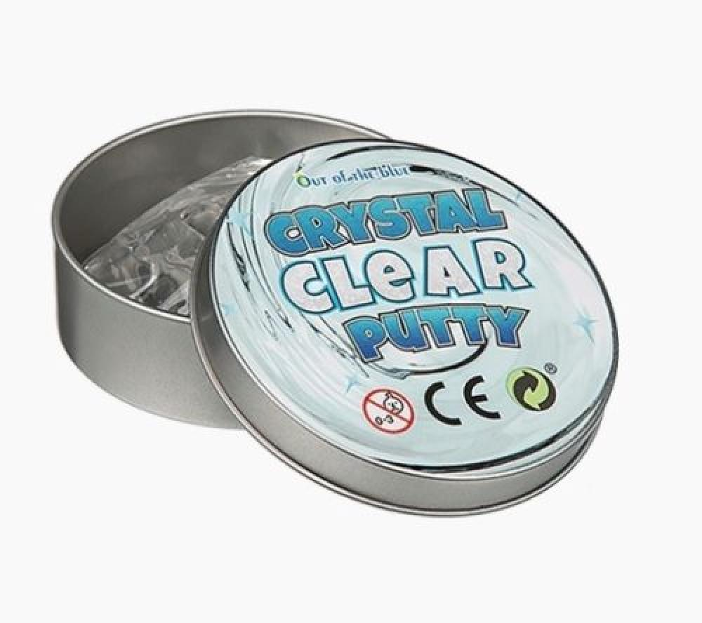 Out of the Blue Crystal Clear Putty