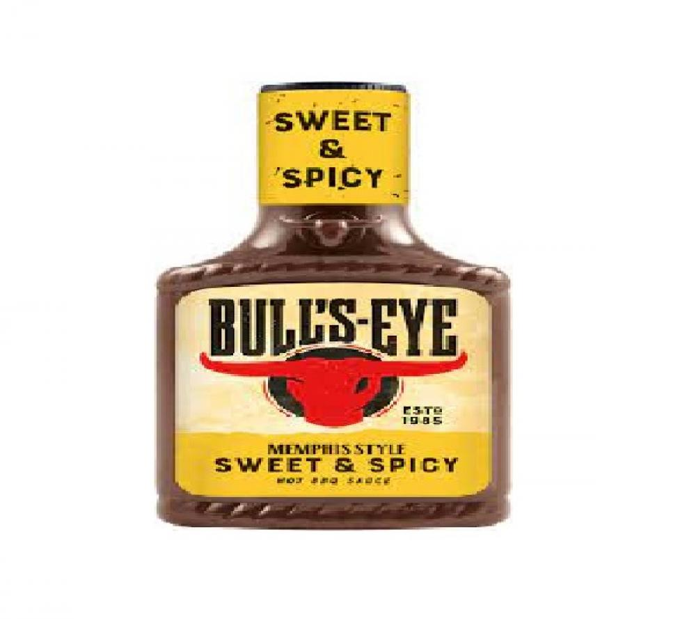 Bulls-Eye Memphis Style Sweet and Spicy Hot Sauce 300ml