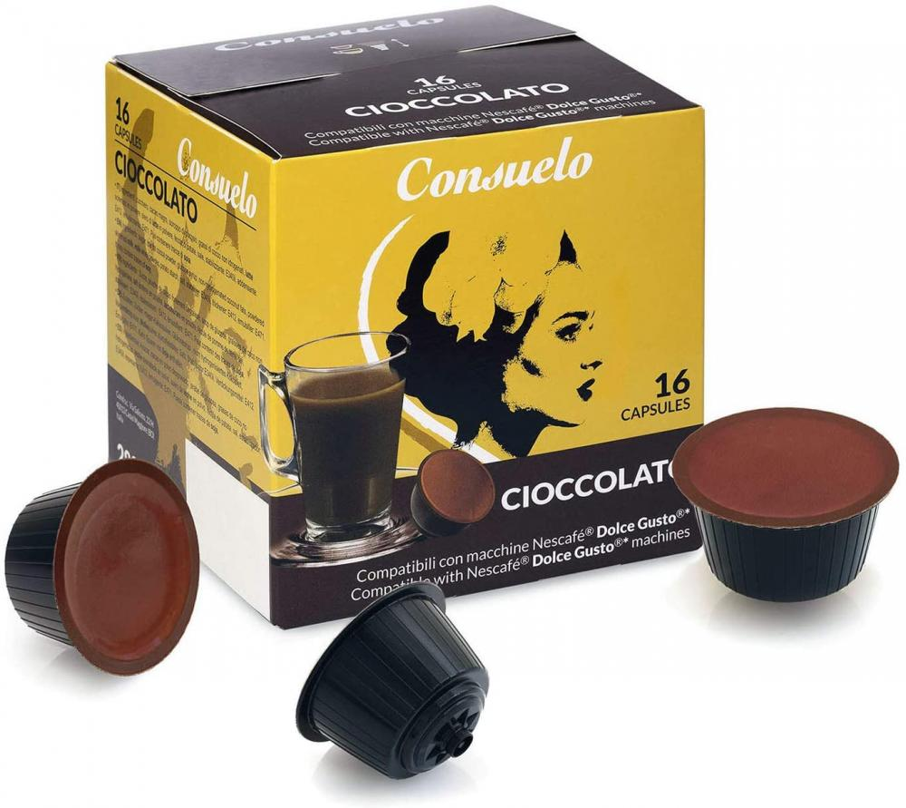 Consuelo Dolce Gusto Compatible Capsules Chocolate 16 capsules