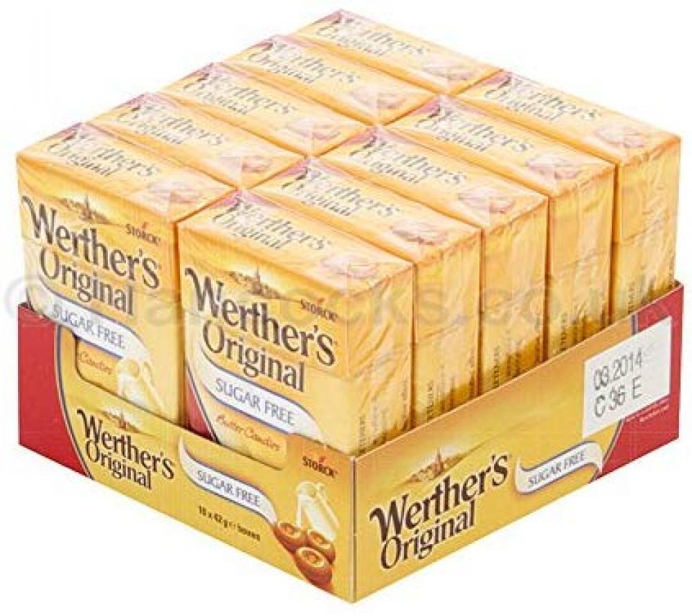 Werthers Original Sugar Free Sweets Butter Candies 42g ...