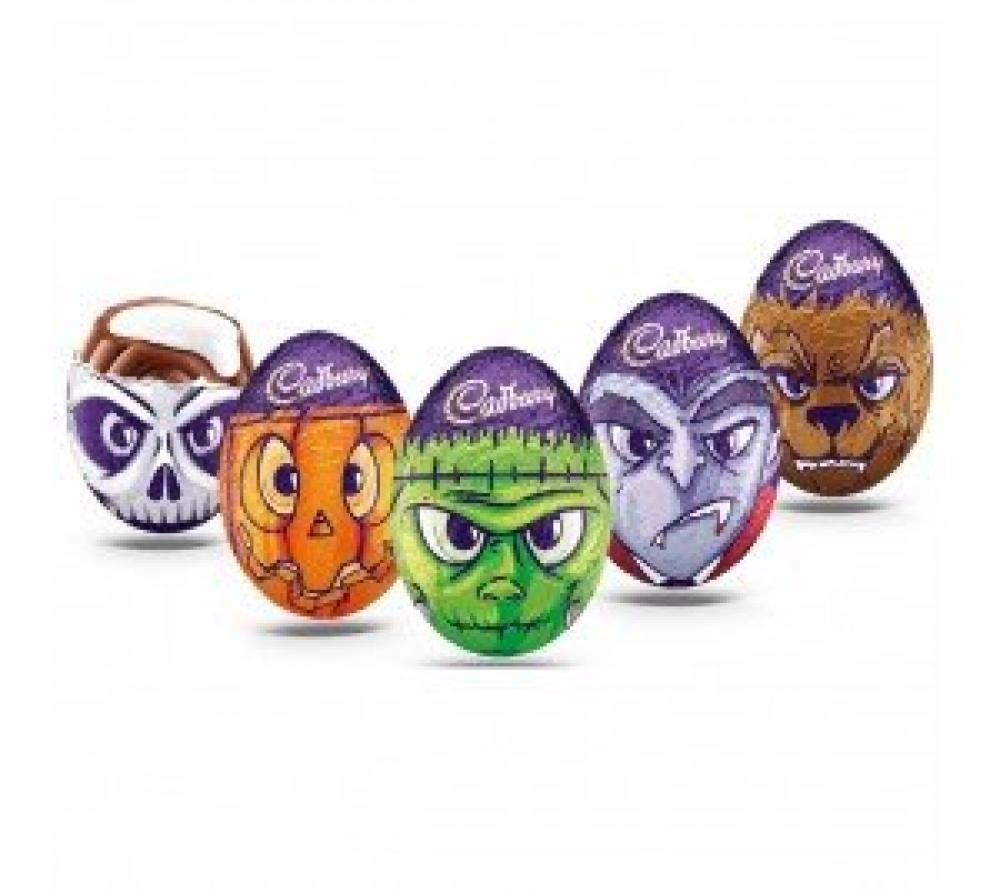 Cadbury Goo Heads Chocolate Mini Egg Lucky Dip 40 g