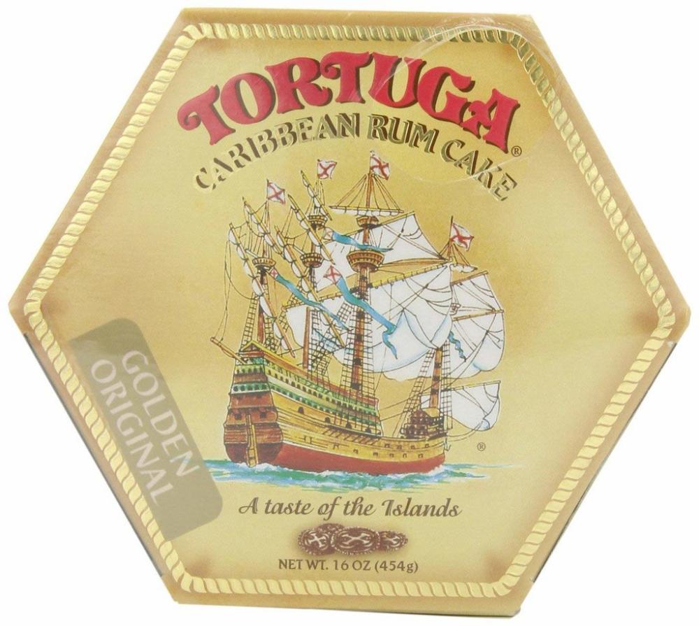 Tortuga Golden Rum Cake from Caribbean 454g