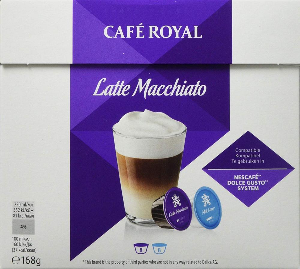 Cafe Royal Latte Macchiato 8 Servings 168g