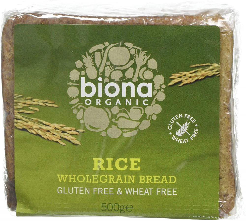 Biona Organic Rice Bread Sliced 500g