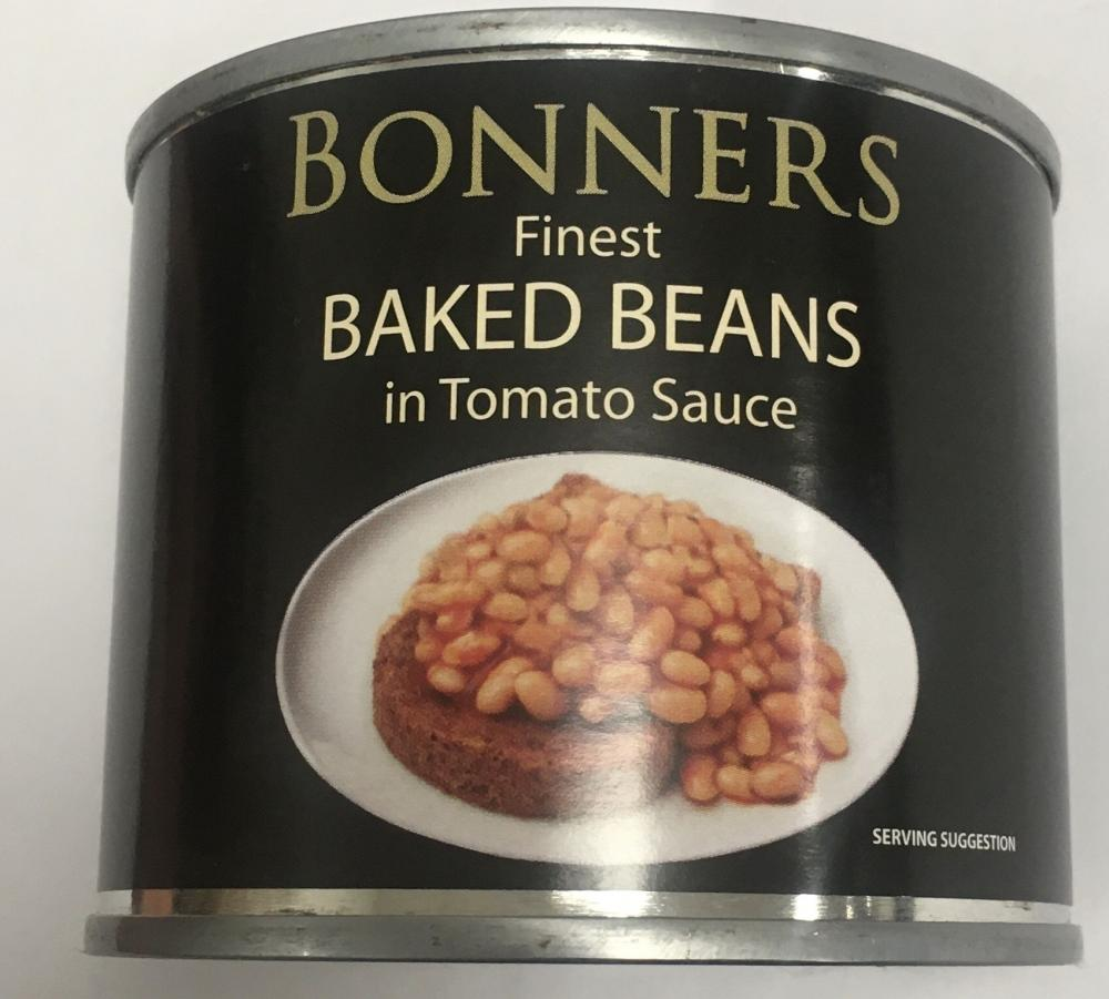 Bonners Finest Baked Beans In Tomato Sauce 220g