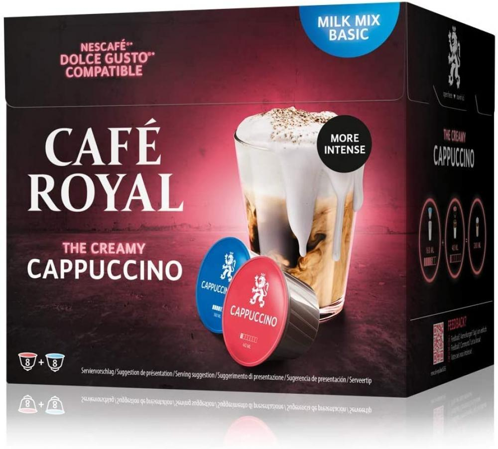Cafe Royal Cappuccino Dolce Gusto Coffee