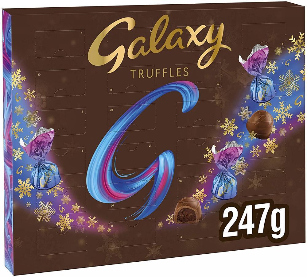 Galaxy Truffles Premium Chocolate Advent Calendar 247 g