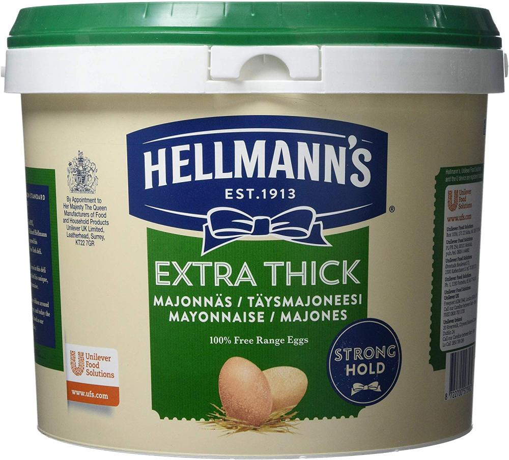 Hellmanns Extra Thick Mayonnaise 5 L