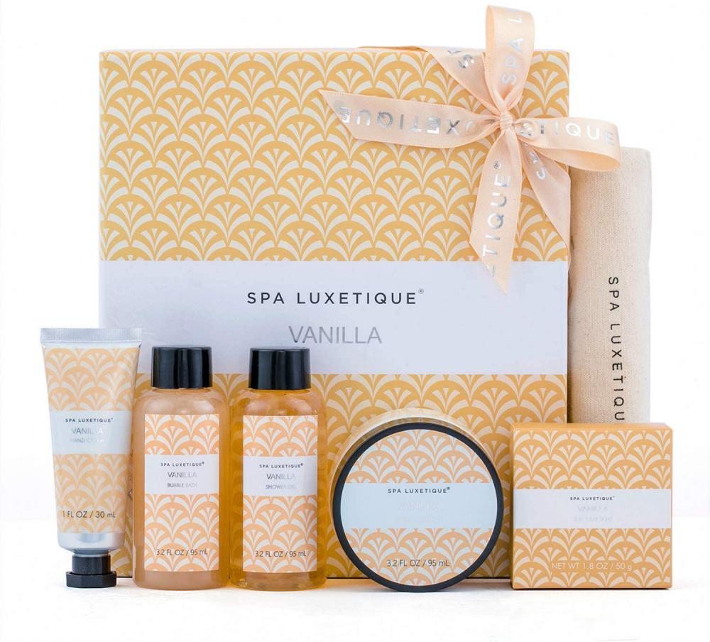 Spa Luxetique Spa Gift Set Bath Sets for Women Damaged Box