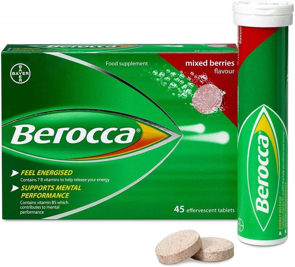 Berocca Vitamin Tablets Mixed Berries Flavour 15 tablets