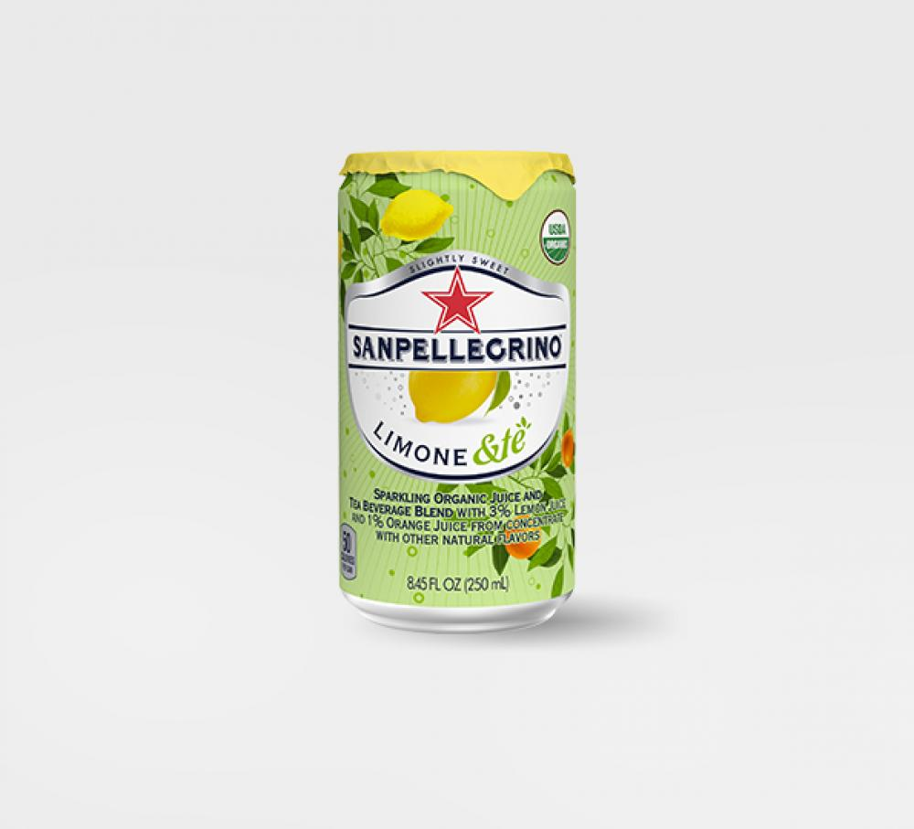Sanpellegrino lemon and tea 250ml