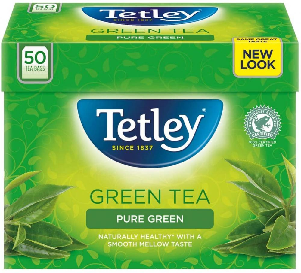 Tetley Green Tea Pure Green 50 teabags