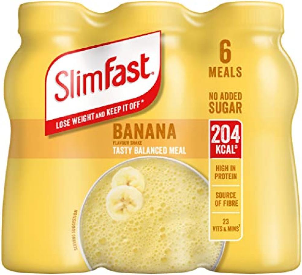 SlimFast Banana Shake 6 x 325ml