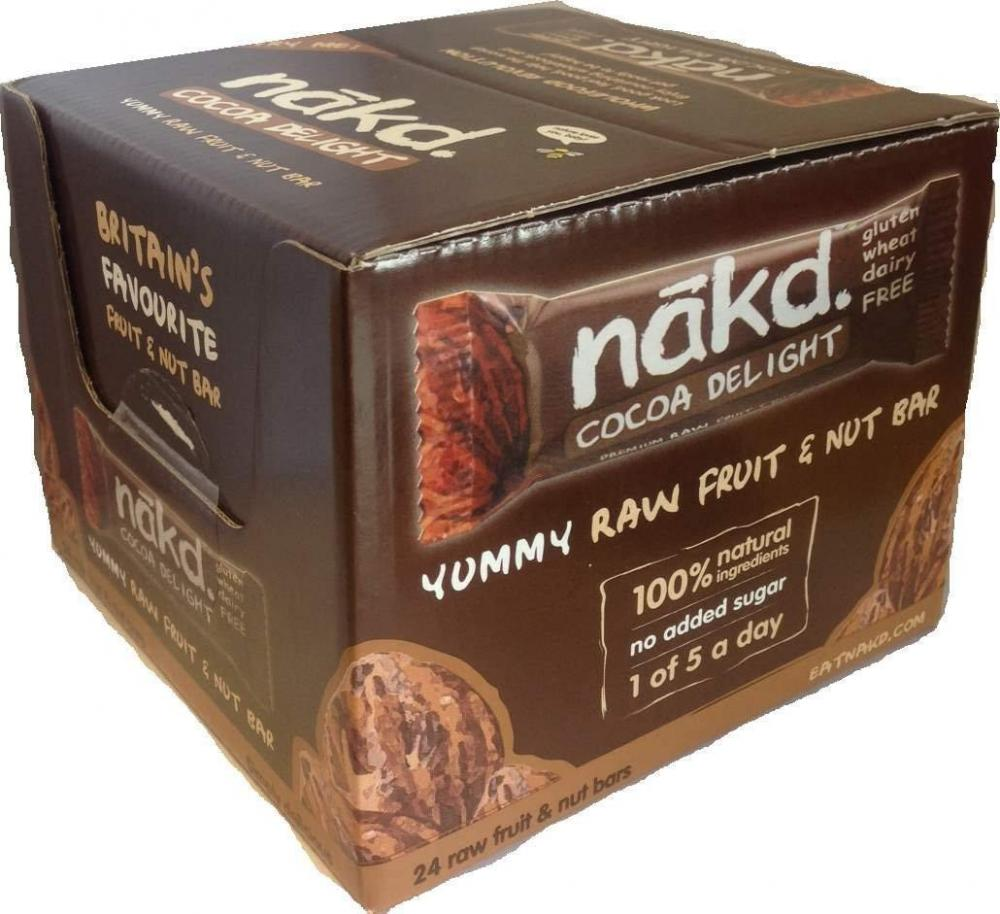 Nakd Cocoa Delight Raw Bar 35g