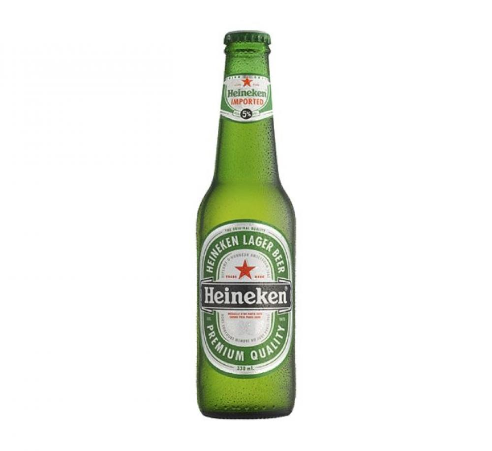 Heineken Premium Lager Beer Bottle 330ml